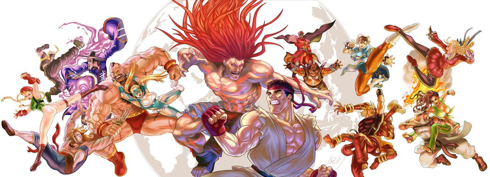 Street Fighter V by BenjaminAng
