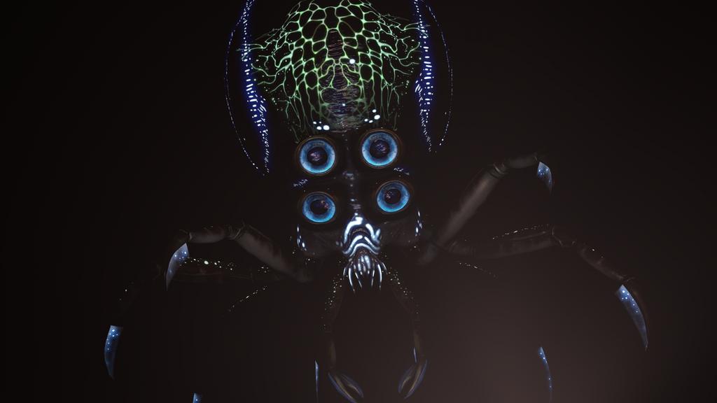 Crabsquid by Krozyniac