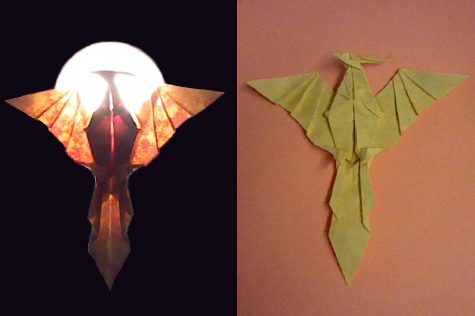 Origami Pheonix