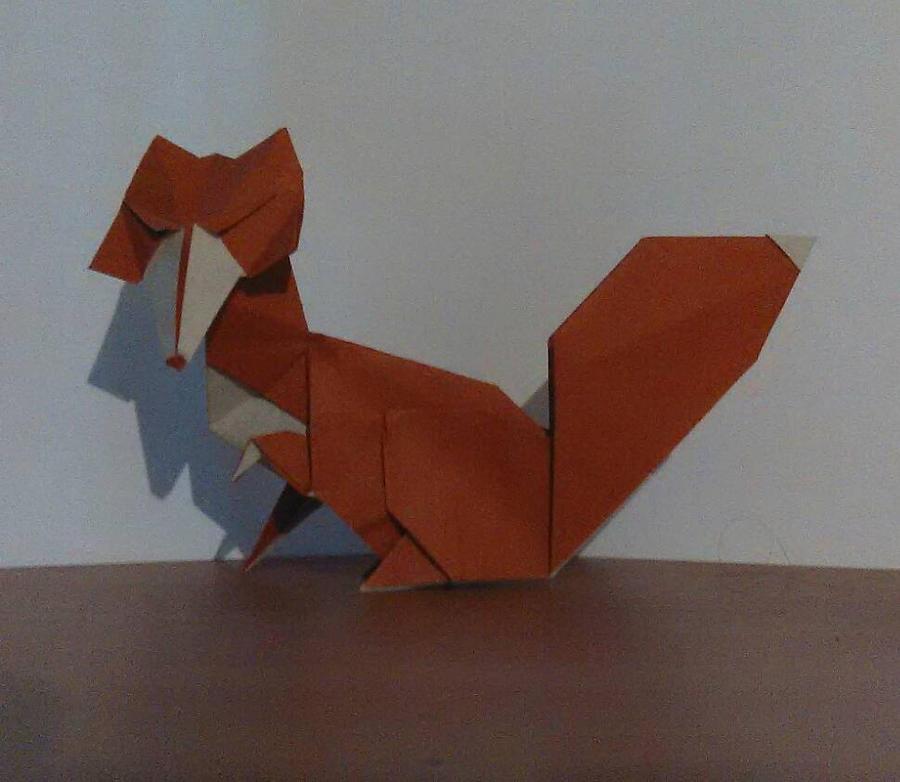 Origami Vixen
