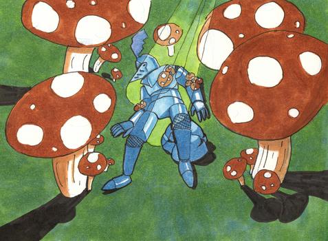 Mushroom Knight