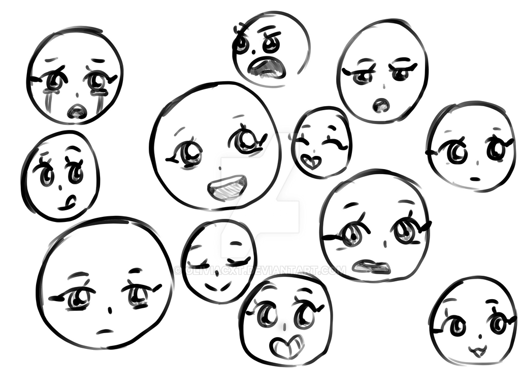 For once, I actually succeeded at expressions by OliviaCxt