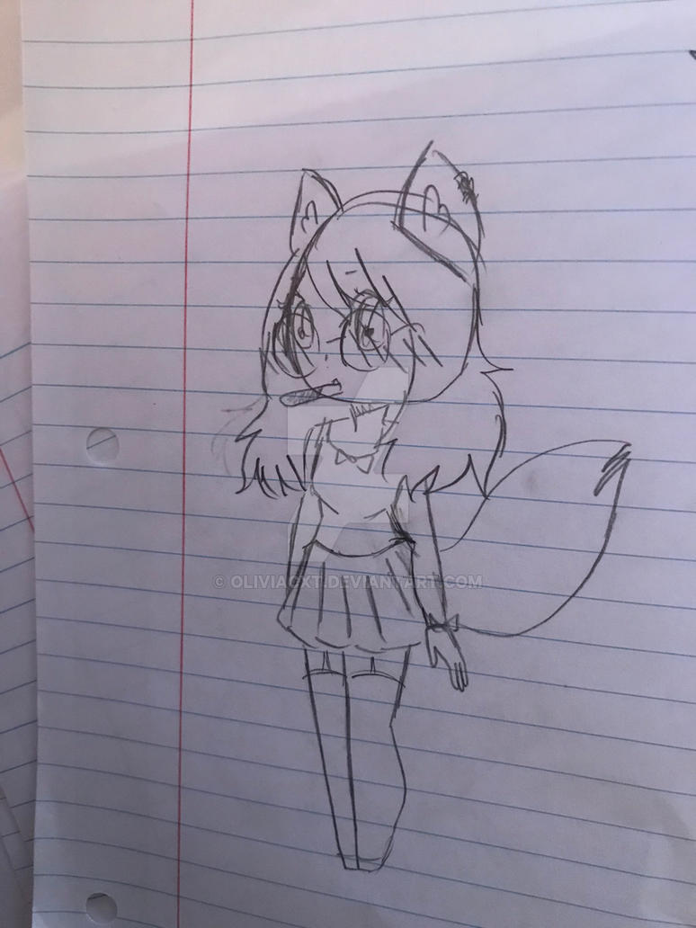 Happy Birthday Wolfychu! 1/4 by OliviaCxt