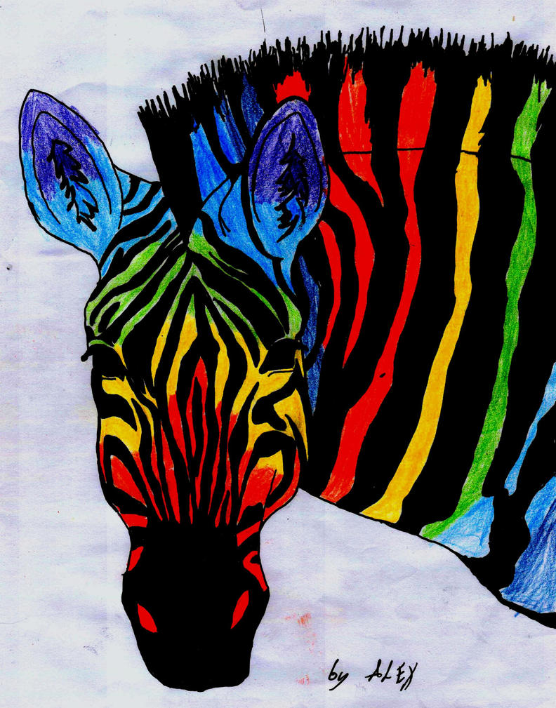 Colorful Zebra Print Nail Art Tutorial: Publish With Glogster