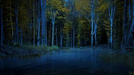 Nimrodel At Night by Toksa1