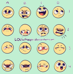 Expression Meme by LOLWhoopie