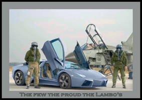 The few the proud the Lambo's by puddlz