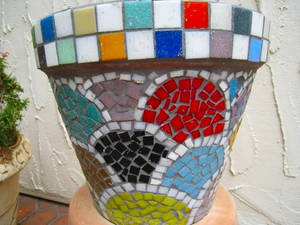 rainbow pot
