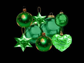 Green Ornaments