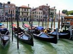 the famous gondolas