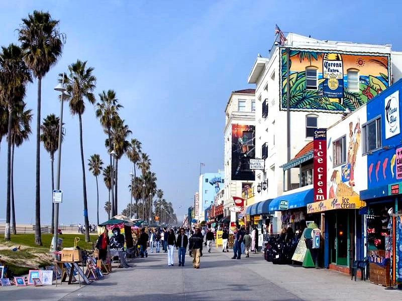 venice beach california by puddlz