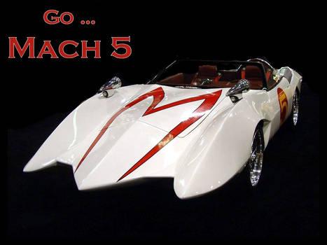 mach 5 speed racer car