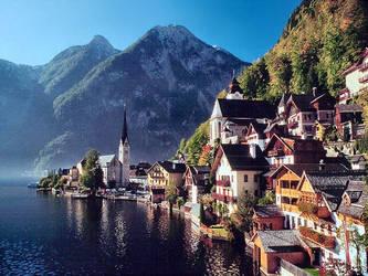 hallstatt austria by puddlz