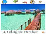Fishing you where here