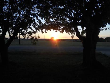 Our Belton Tx Sunset