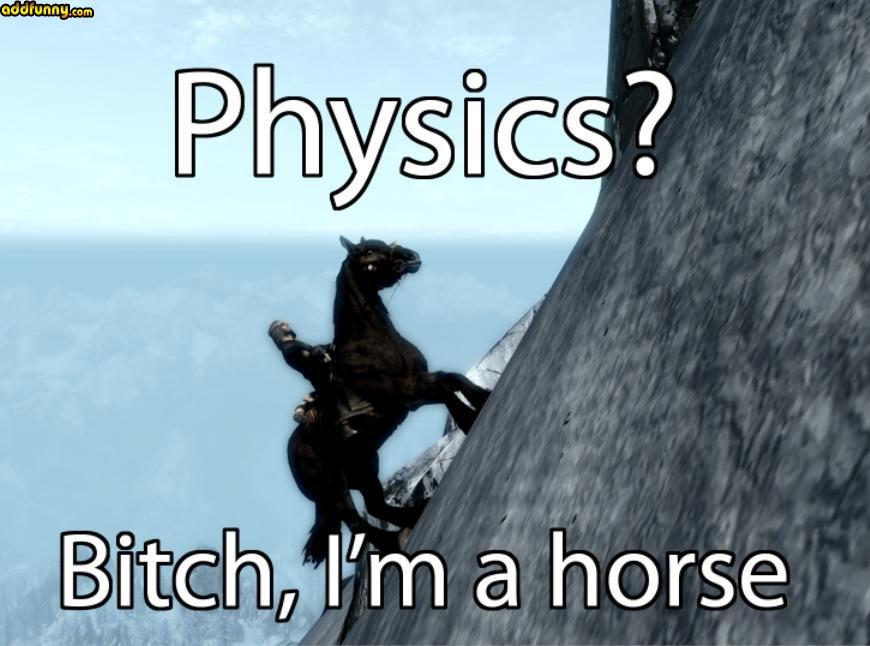 Skyrim Horse by wowlol1234