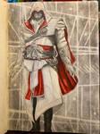 Ezio Auditore da Firenze by DomDiddyDomArt