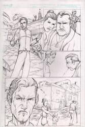 Script work scene page 1 by masstard