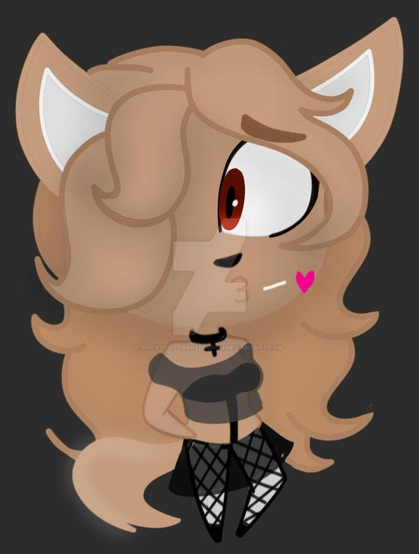 Cute Little Wolf Gift by RockyFiveTheHEdgehog