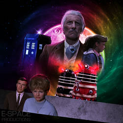 Dr. Who And The Daleks Artwork Remake by E-SPACE-Productions