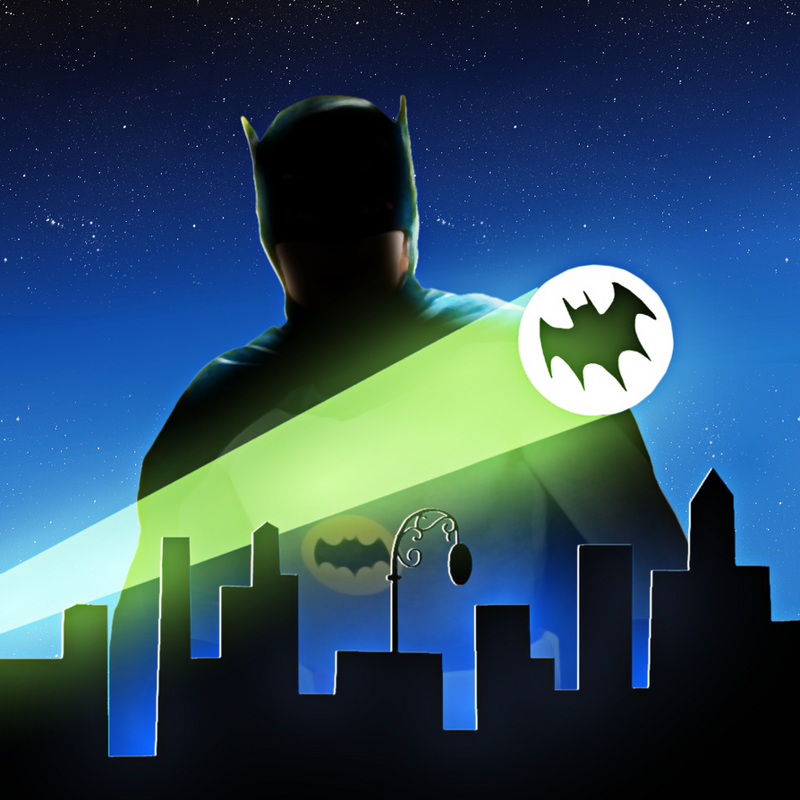 Adam West Tribute by E-SPACE-Productions