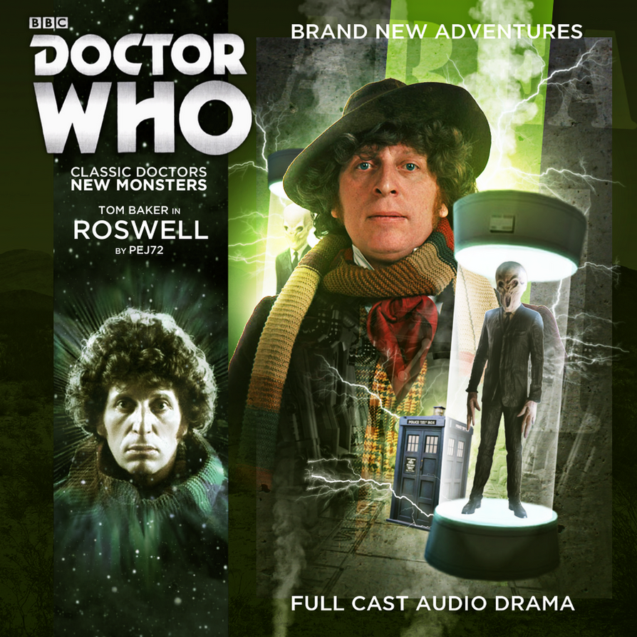 Doctor Who - Roswell Cover Art by E-SPACE-Productions