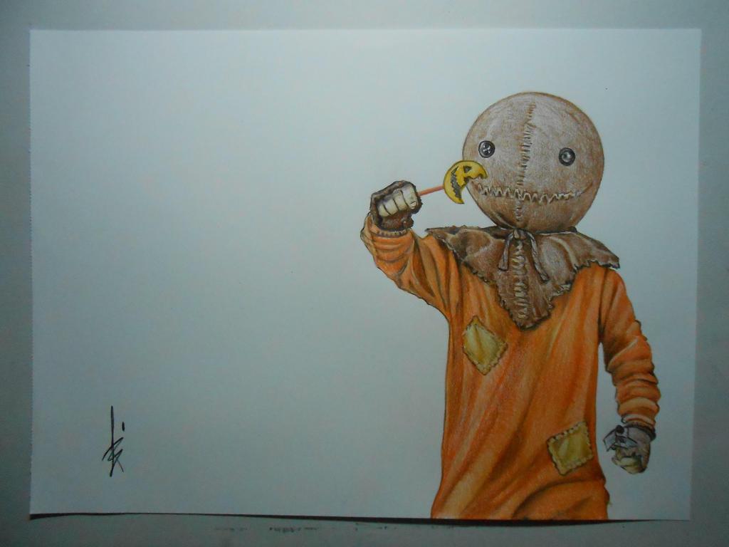 Drawing Trick R Treat Sam By Dibujarteriestra On Deviantart