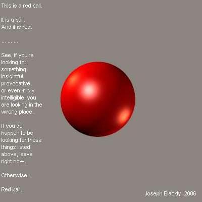 Joe's Red Ball