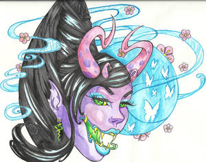 Demoness of the Blue Moon
