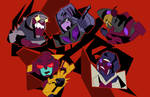 The Stunticons go all out! by jackgaughan
