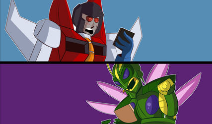 Your name/Beast wars 1 by jackgaughan