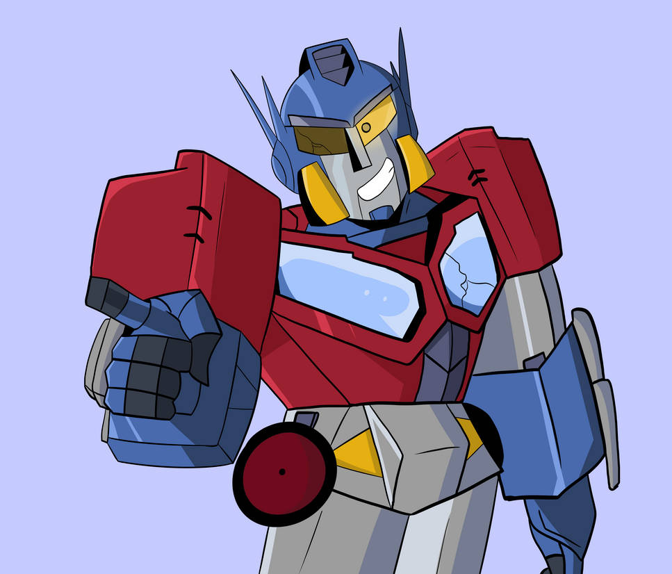 A kinda Cybertron styled Optimus by jackgaughan