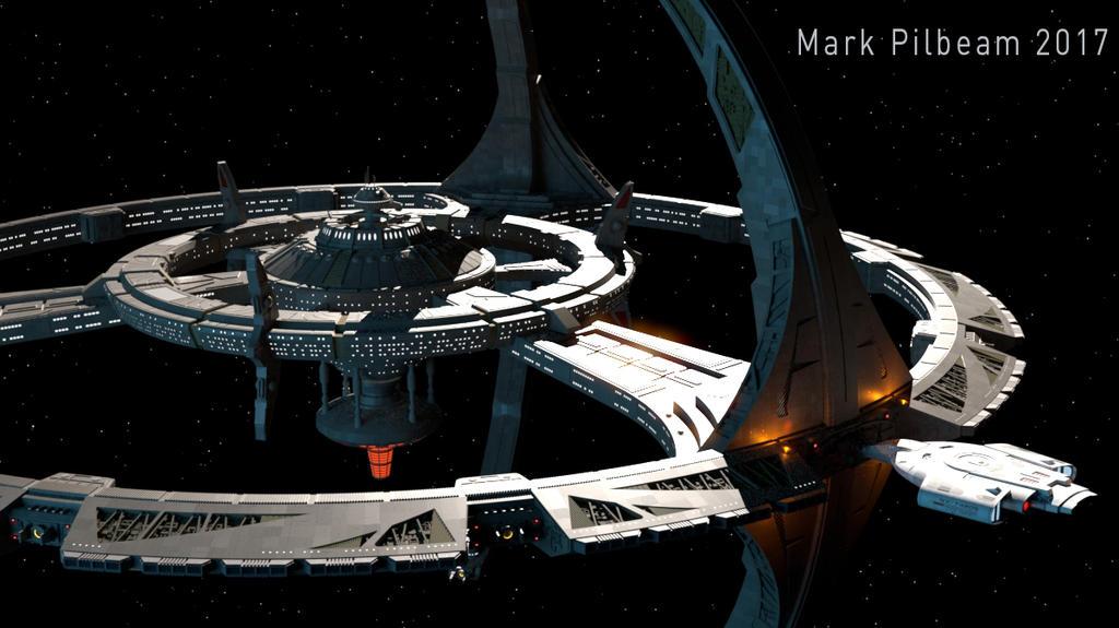 Deep Space 9 by markpilb