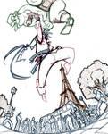 Ken vs Zangief : Shinruken WIP