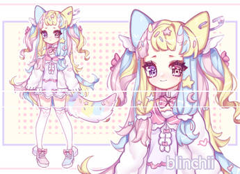 Pastel Girl CLOSE by Blinchii