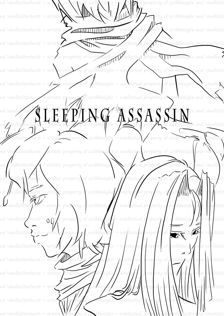 Sleeping Assassin: cover by scribblesigEe