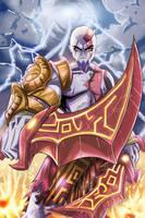 Kratos by SketchSchmidt-Art