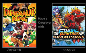 Dinosaur King and Fossil Fighters