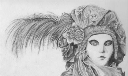 Le Carnaval des Couleurs - graphite by Avalonne65