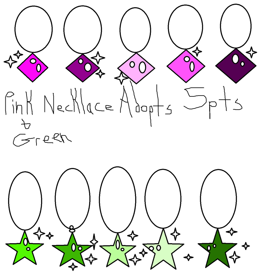 Necklace Adopts For Sale by EmoSandy93