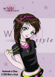 Scene Manga Girl