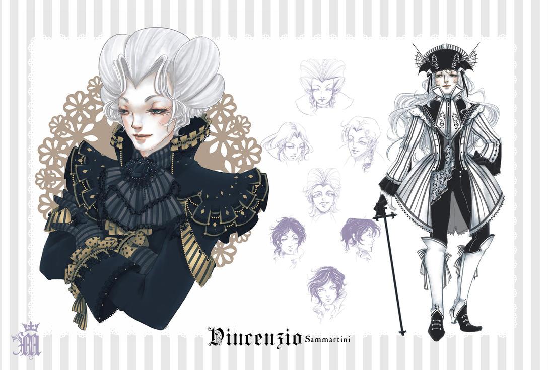 Character Sheet - Vincenzio by m-aruka
