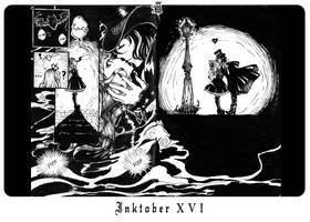Inktober XVI by m-aruka
