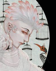 Beware the Bird - II by m-aruka