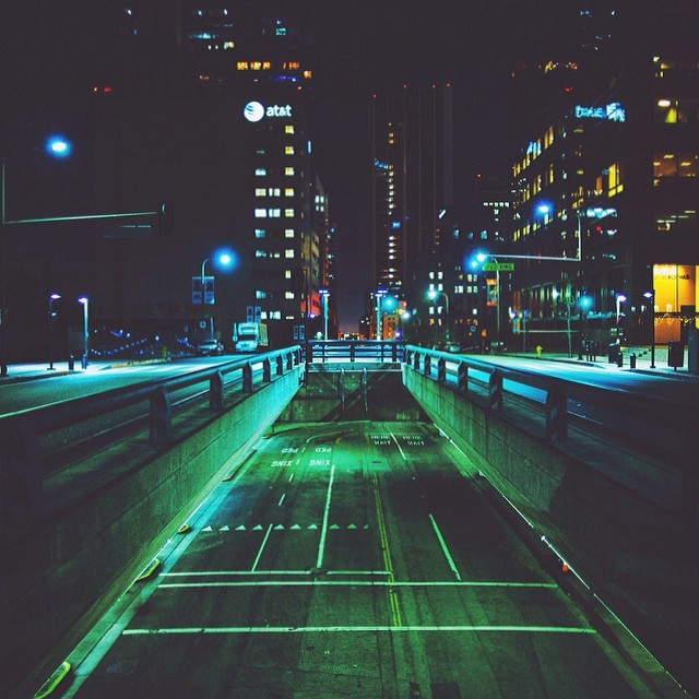 green night by Cityneon