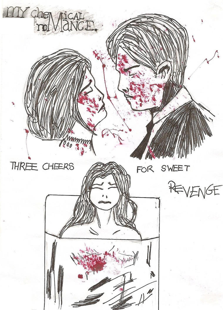 Three Cheers For Sweet Revenge by CrazyAndMe on DeviantArt