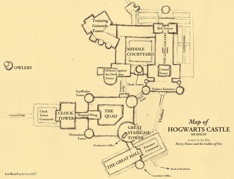 map_of_hogwarts___draft_i_by_leethree9 d3gh194