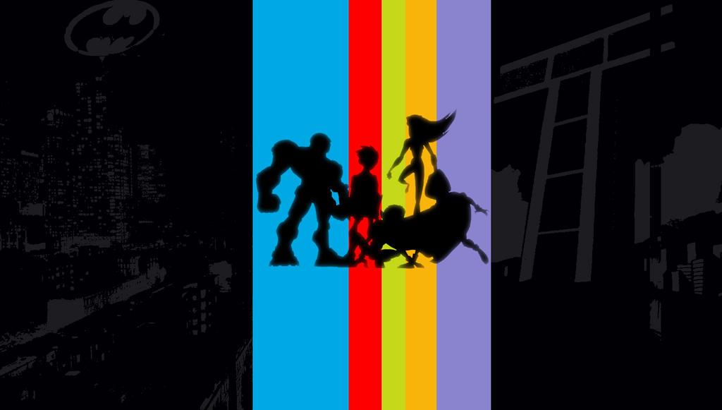 Teen Titans Wallpaper by rootsauce