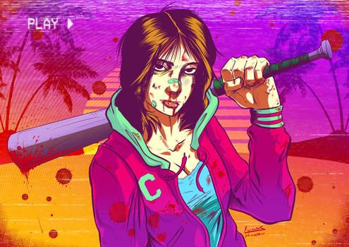 80's Punk Girl