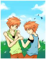 The Twins :: OHSHC :: by Nadako-Mika